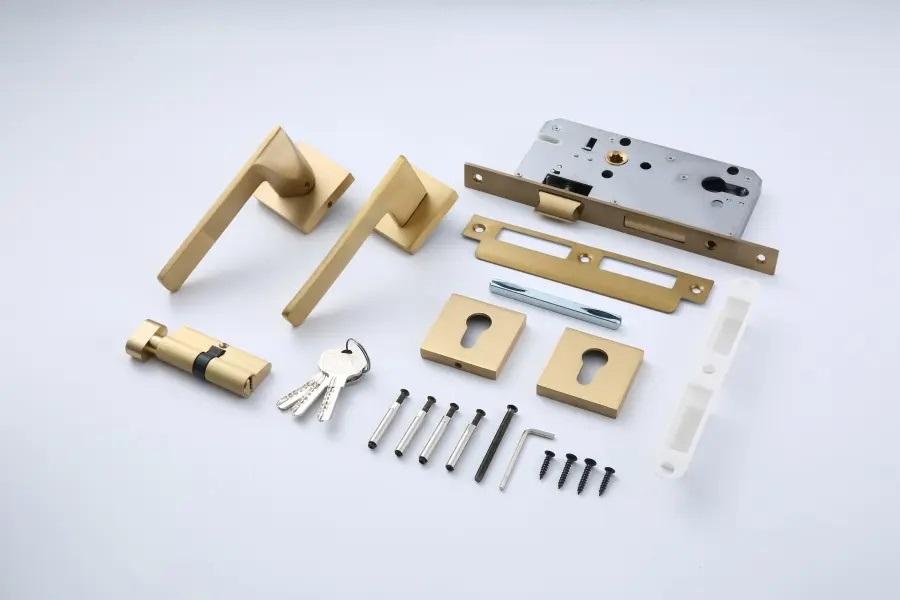 Brass Lever door handles